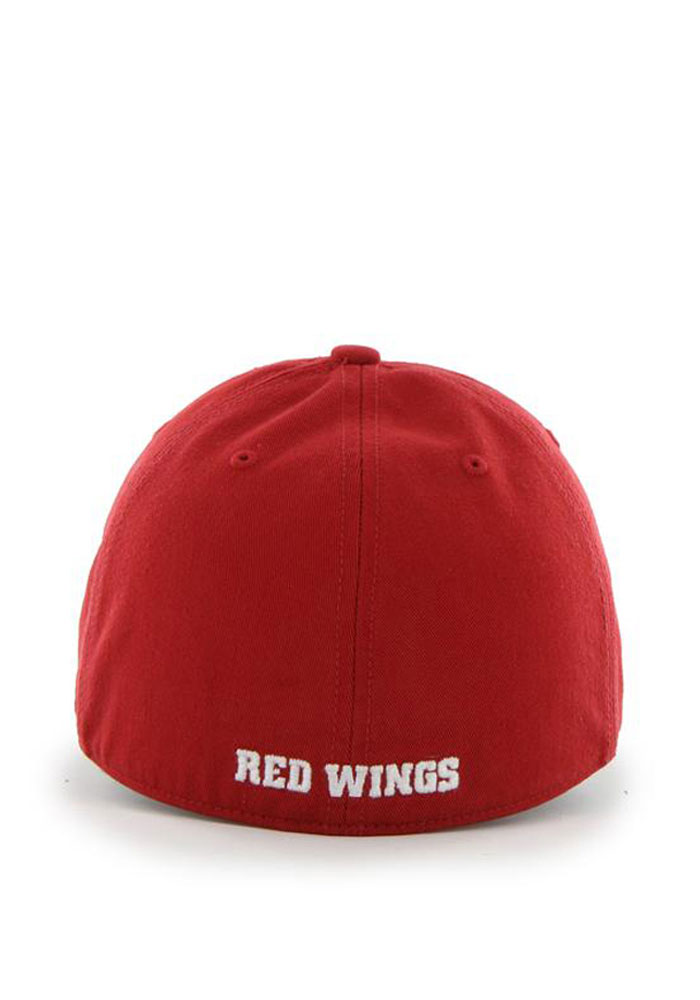 47 Detroit Red Wings Mens Red 47 Franchise Fitted Hat - Image 2