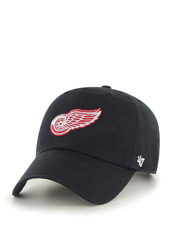 47 Detroit Red Wings Clean Up Adjustable Hat - Black