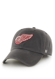47 Detroit Red Wings Clean Up Adjustable Hat - Charcoal