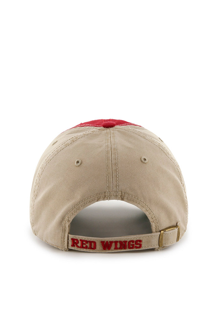 '47 Detroit Red Wings Mens White Healey Clean Up Adjustable Hat - Image 2