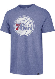 47 Philadelphia 76ers Blue Match Fashion Tee