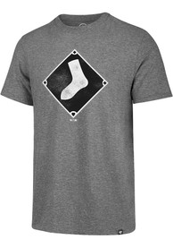 47 Chicago White Sox Grey Match Fashion Tee