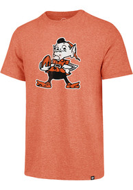 47 Cleveland Browns Orange Match Fashion Tee