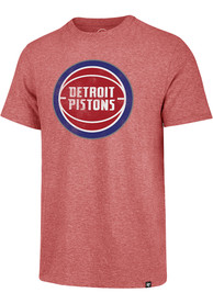 47 Detroit Pistons Red Match Fashion Tee