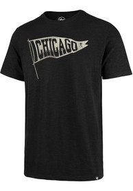47 Chicago Blackhawks Black Scrum Fashion Tee