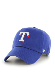 47 Texas Rangers Clean Up Adjustable Hat - Blue