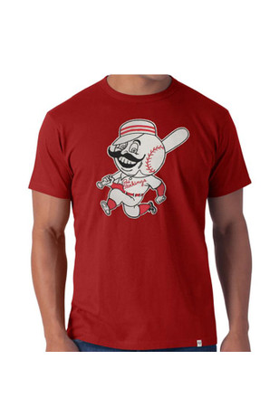 '47 Cincinnati Reds Mens Red Knockout Fashion Tee