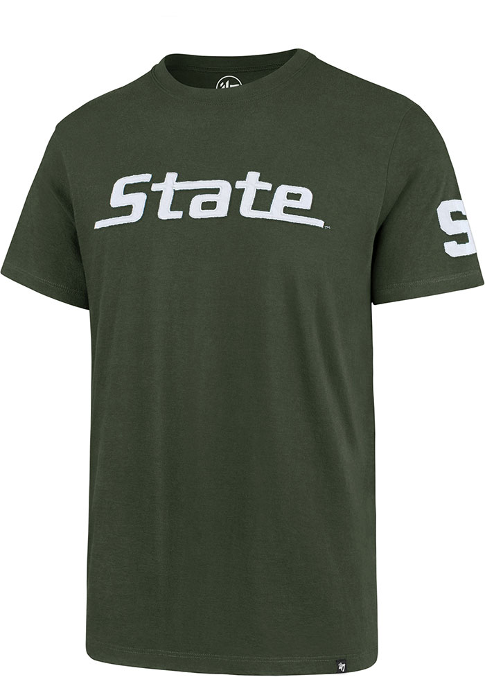 47 Michigan State Spartans Green State Short Sleeve Fashion T Shirt - Image 1