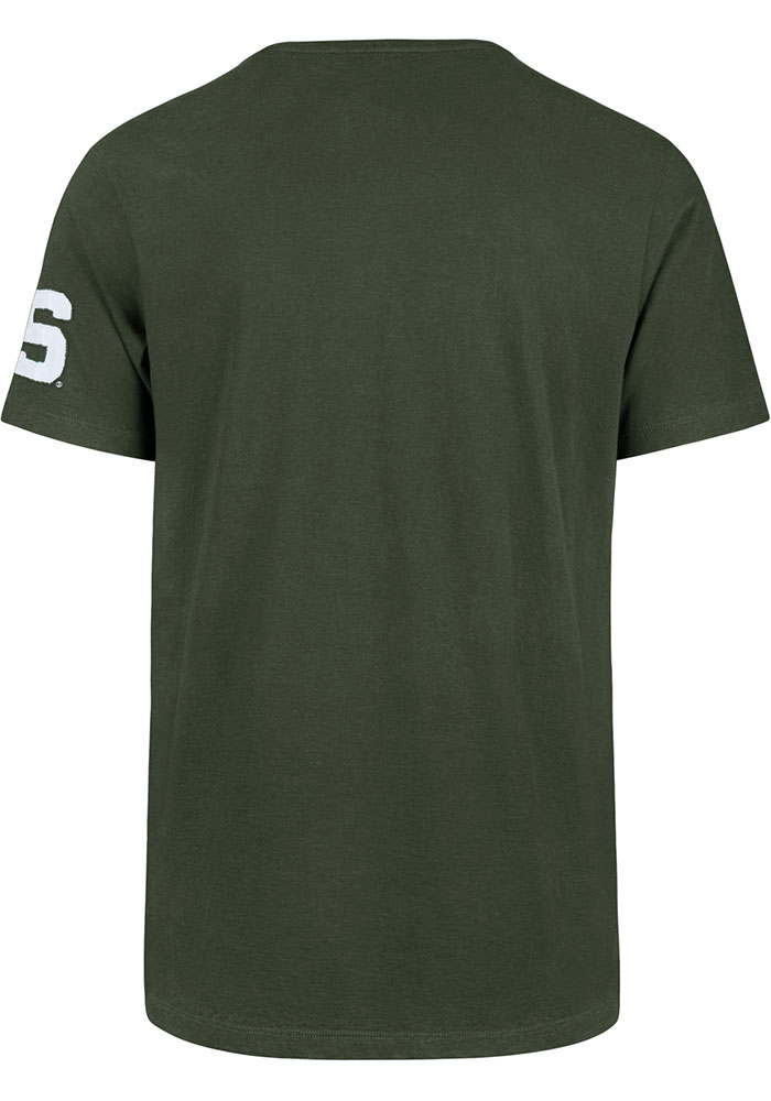 47 Michigan State Spartans Green State Short Sleeve Fashion T Shirt - Image 2