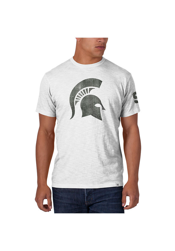 47 Michigan State Spartans White Two Peat Fashion Tee