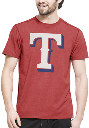 '47 Texas Rangers Mens Red High Point Tee