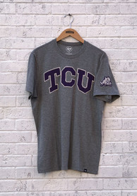 47 TCU Horned Frogs Grey Arch Fashion Tee