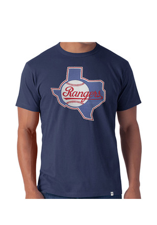 '47 Texas Rangers Mens Grey Knockout Fashion Tee