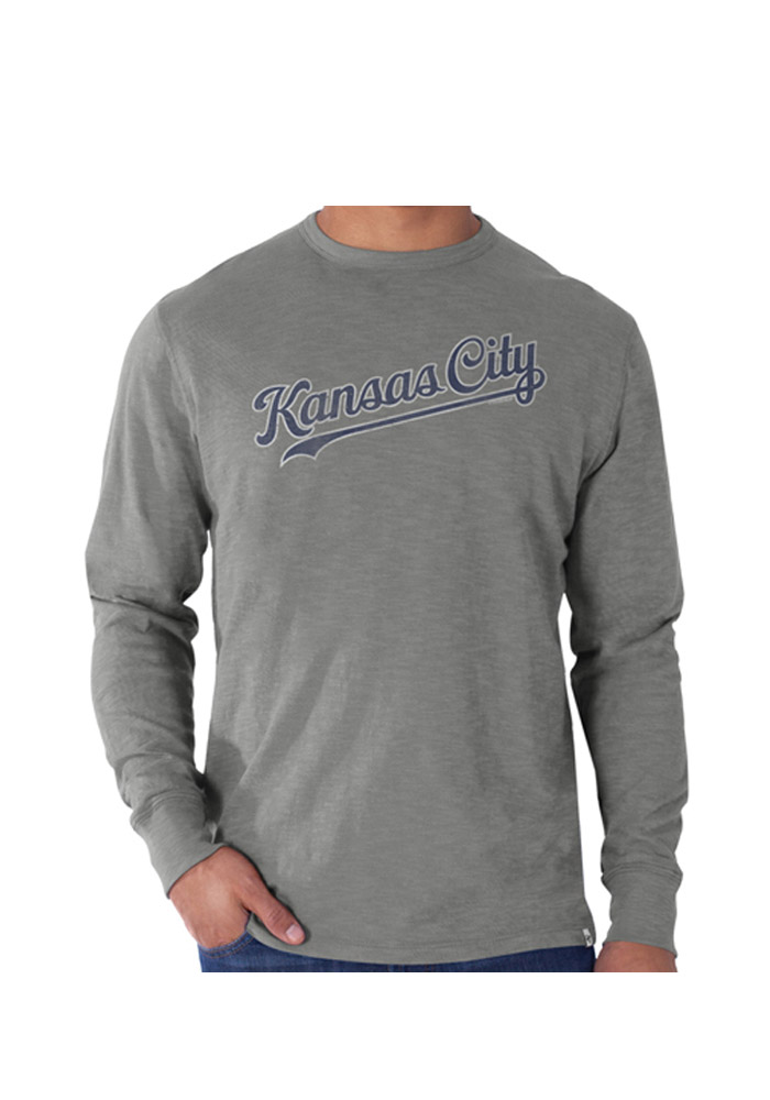 47 Kansas City Royals Grey Scrum Fashion Tee