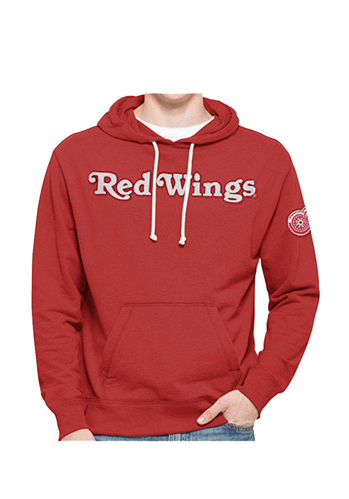 47 Detroit Red Wings Mens Red Striker Fashion Hood - Image 1