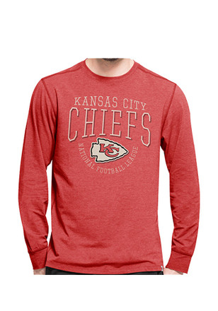 '47 Kansas City Chiefs Mens Red Shift Cadence Athleisure Tee