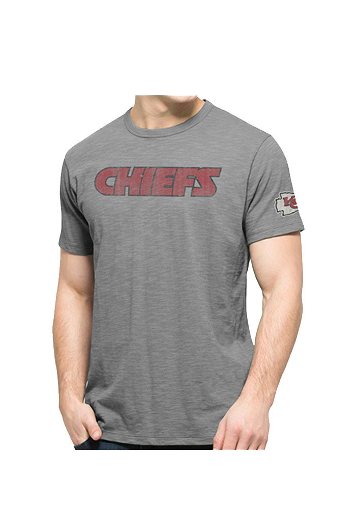 47 Kansas City Chiefs Grey Two Peat Fashion Tee