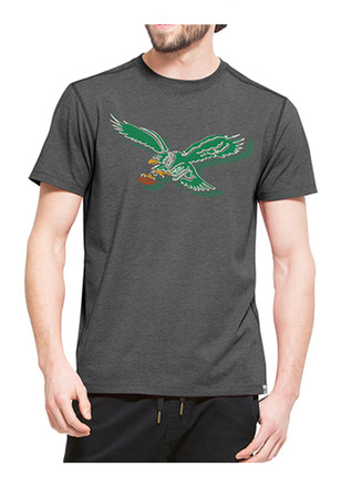'47 Philadelphia Eagles Mens Black Shift High Point Tee