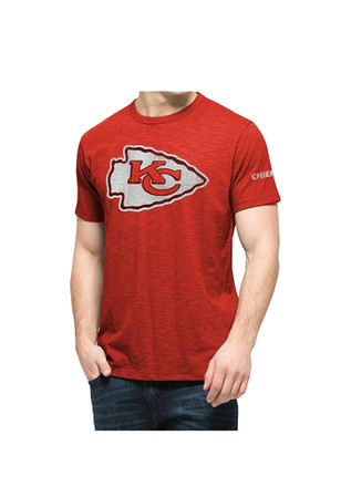 '47 KC Chiefs Mens Red Two Peat Fashion Tee