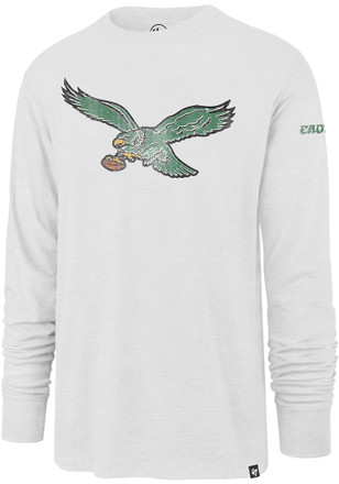 '47 Philadelphia Eagles Mens White Legacy Two Peat Fashion Tee