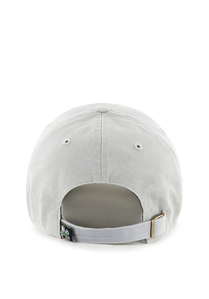 '47 Notre Dame Fighting Irish Mens Grey Clean Up Adjustable Hat - Image 2