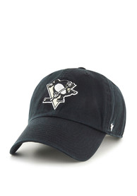 47 Pittsburgh Penguins Clean Up Adjustable Hat - Black