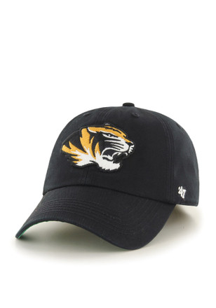 Mizzou Tigers '47 Mens Black Retro `47 Franchise Fitted Hat