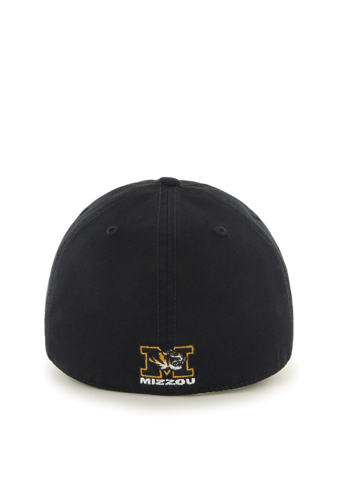 '47 Missouri Tigers Mens Black Retro `47 Franchise Fitted Hat - Image 2