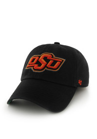 Oklahoma State Cowboys 47 Black `47 Franchise Fitted Hat