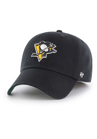 Pittsburgh Penguins 47 Black `47 Franchise Fitted Hat
