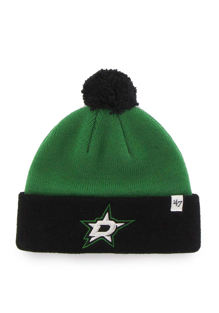 '47 Dallas Stars Green Bam Bam Set Baby Knit Hat - Image 4