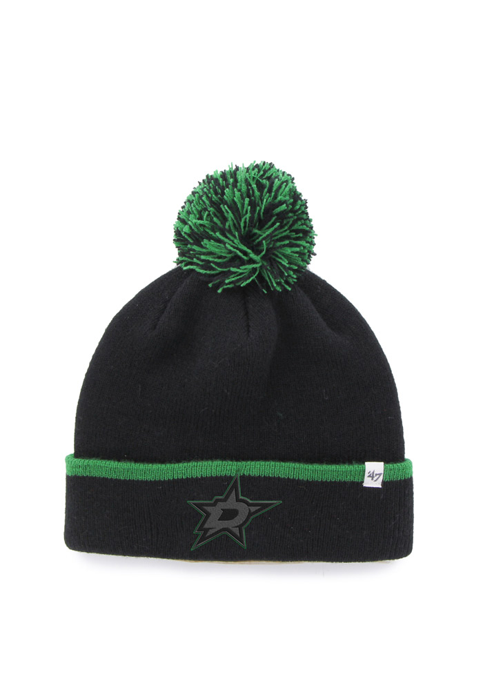 '47 Dallas Stars Black Baraka Mens Knit Hat - Image 1