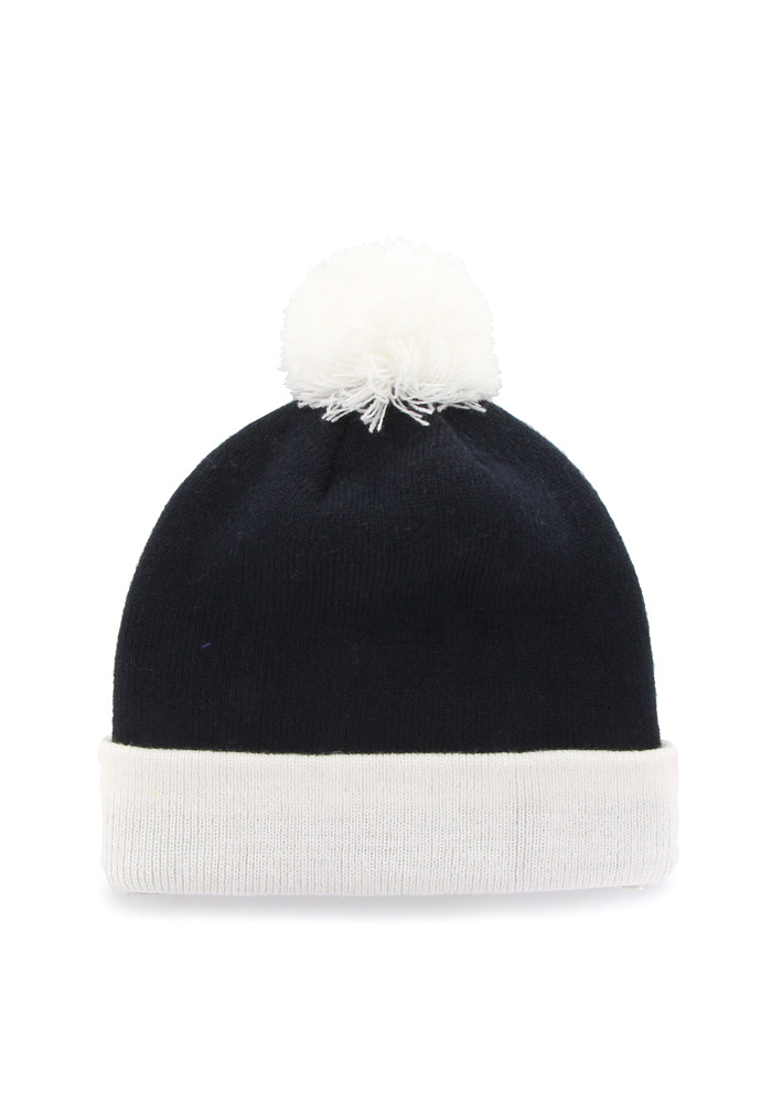 '47 Penn State Nittany Lions Navy Blue Bounder Cuff Mens Knit Hat - Image 2