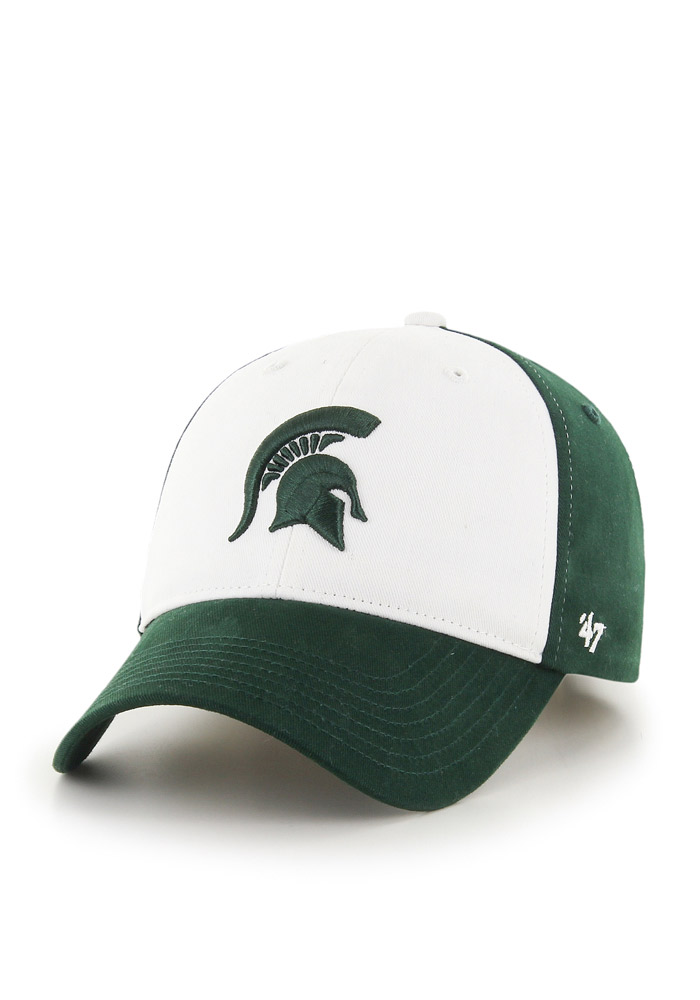Michigan State Spartans Green Broadside Youth Adjustable Hat - Image 1
