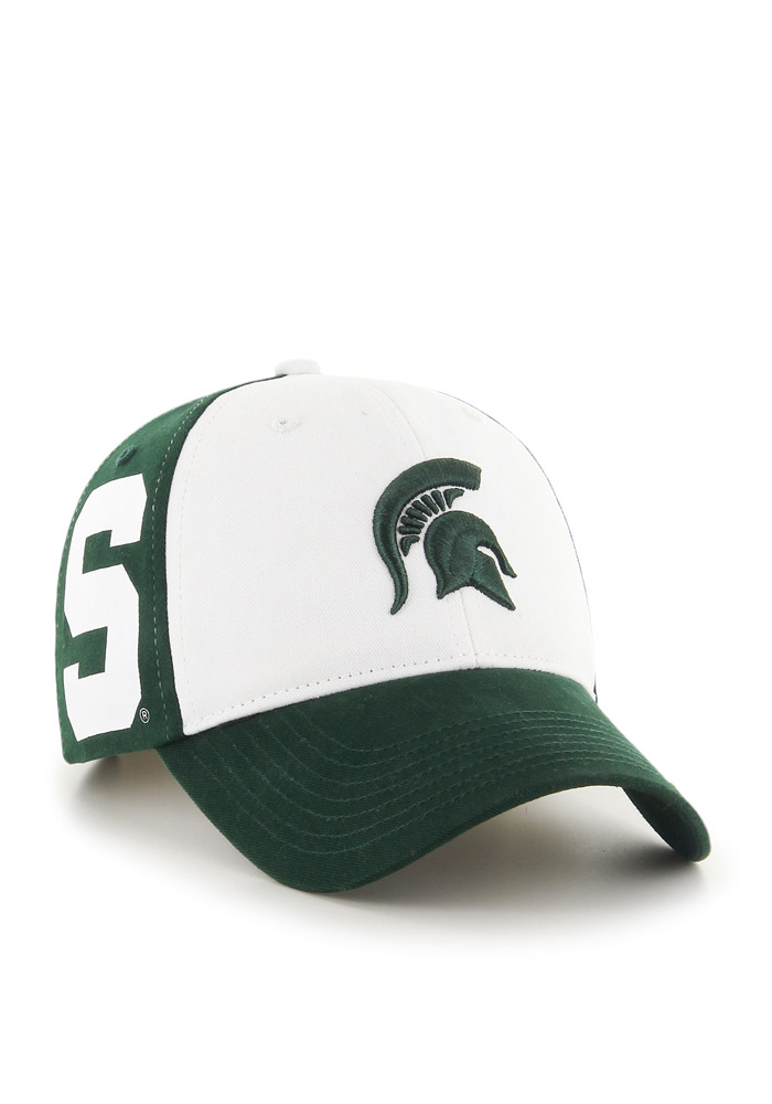 Michigan State Spartans Green Broadside Youth Adjustable Hat - Image 2