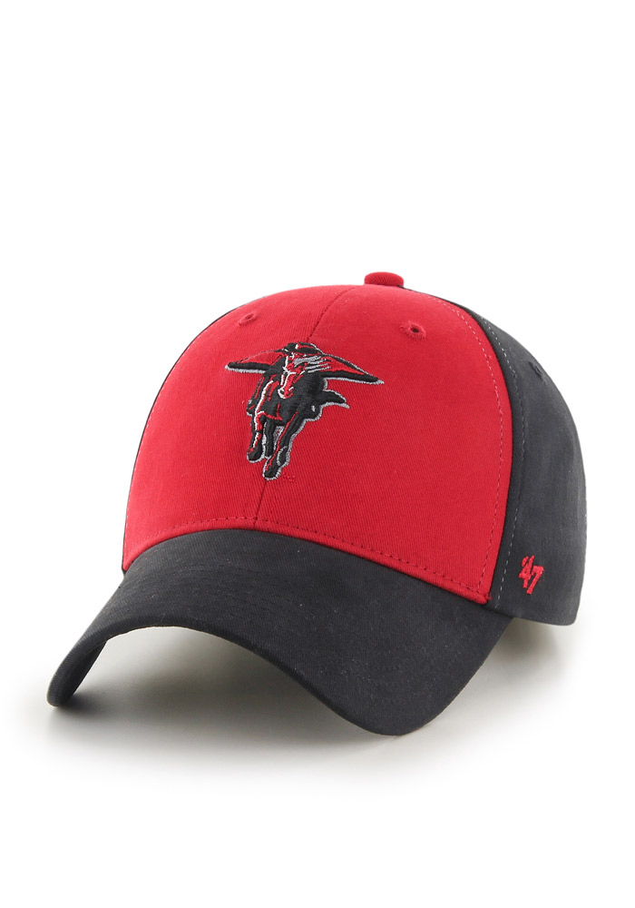 Texas Tech Red Raiders Red B-Side Youth Adjustable Hat - Image 1