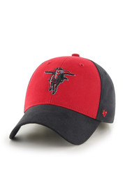 TTech Red Raiders red/black B-Side Youth Adjustable Hat