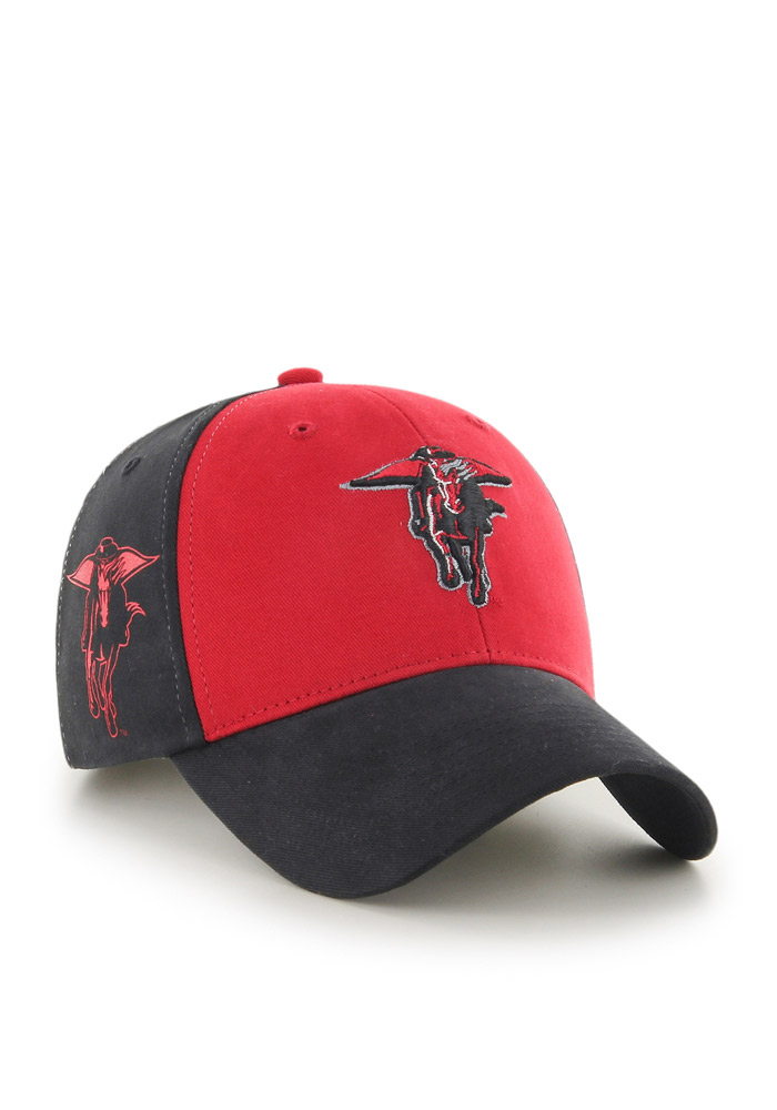 Texas Tech Red Raiders Red B-Side Youth Adjustable Hat - Image 2