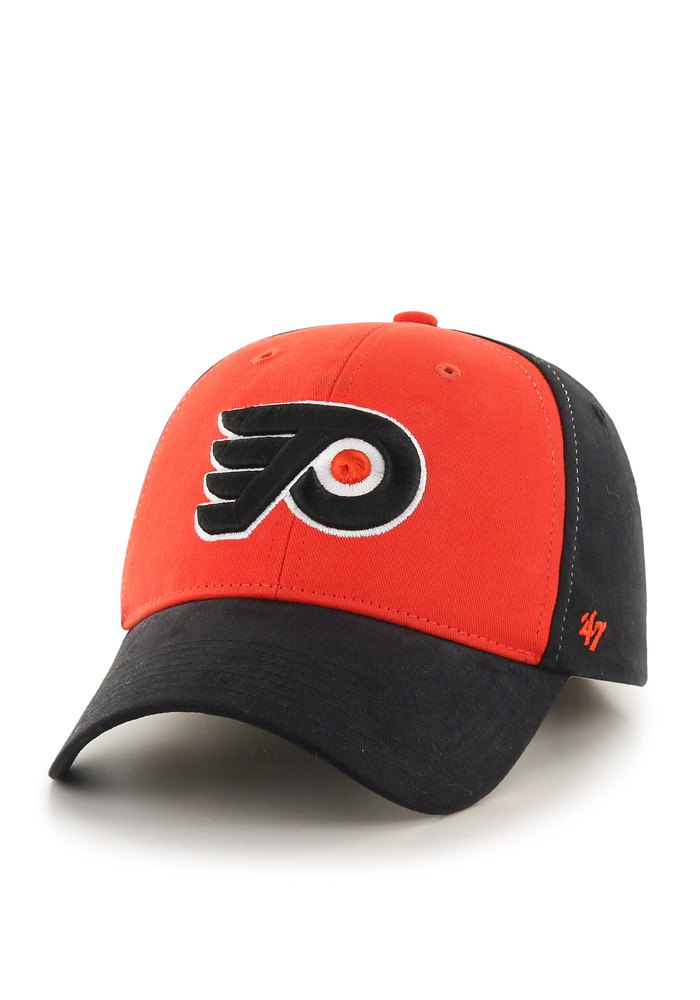 47 Philadelphia Flyers Black Broadside Youth Adjustable Hat - Image 1