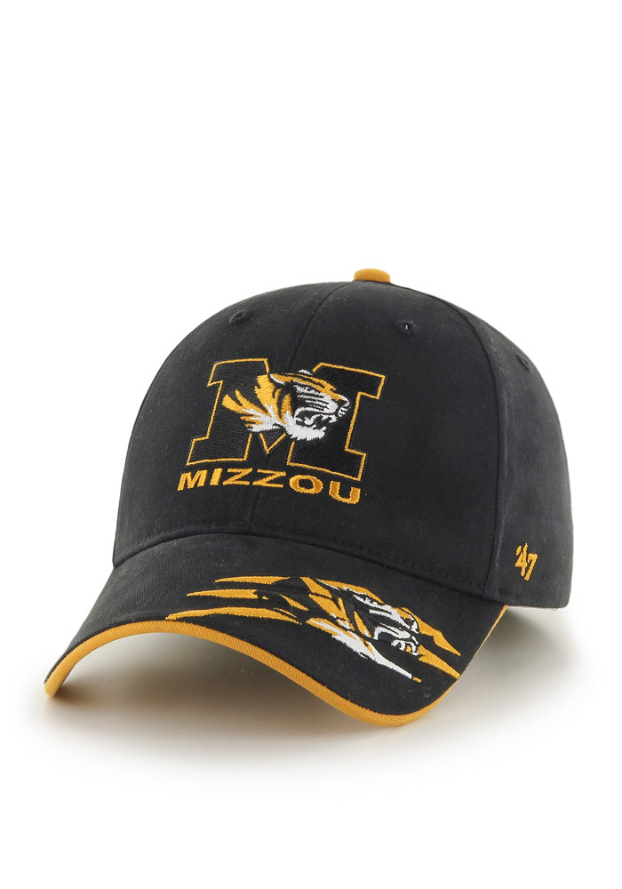 47 Missouri Tigers Black Claws Youth Adjustable Hat - Image 1