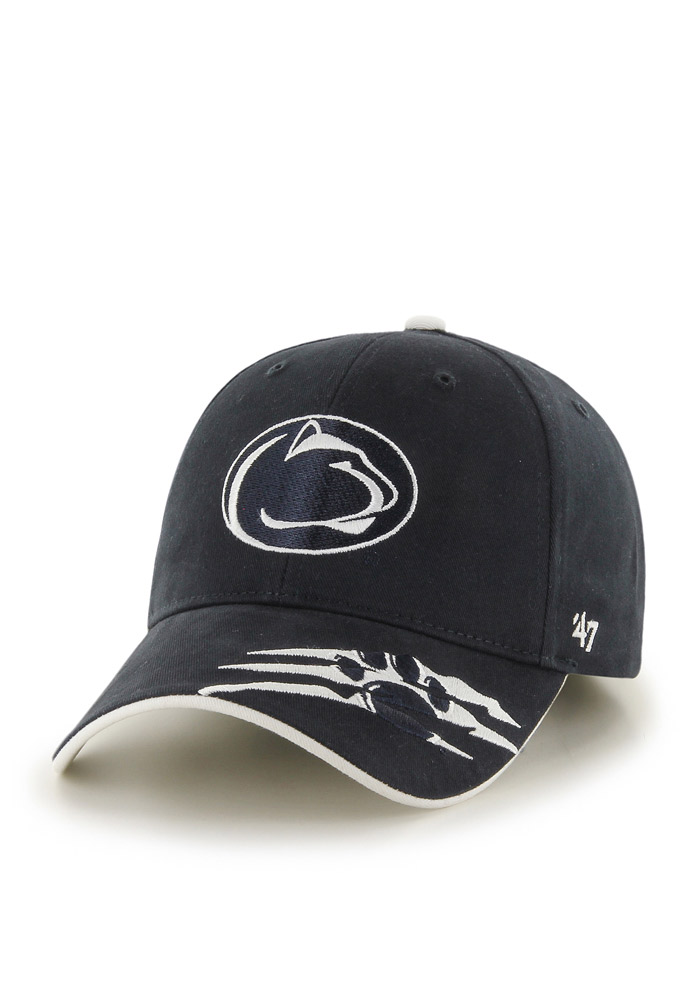 47 Penn State Nittany Lions Navy Blue Claw Youth Adjustable Hat - Image 1