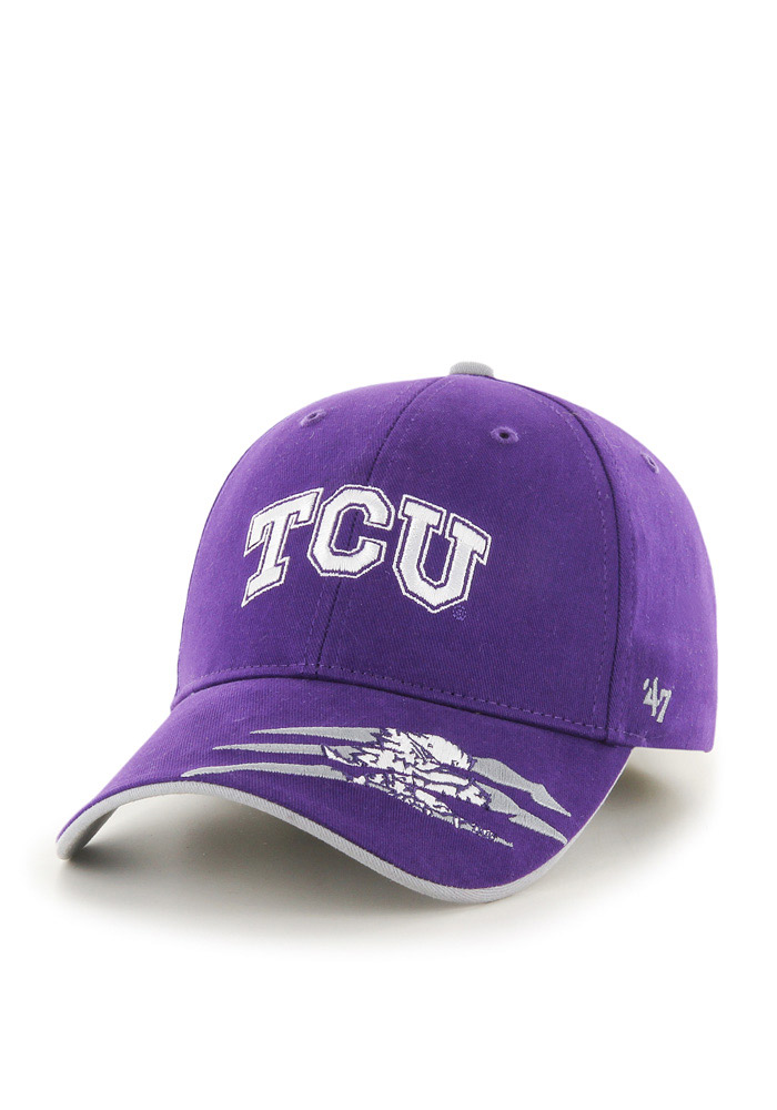 TCU Horned Frogs Purple Claws Youth Adjustable Hat 4805230