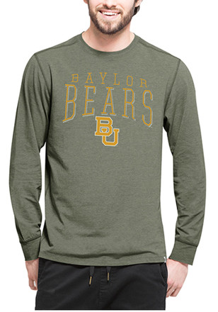'47 Baylor Mens Green Cadence Performance Tee