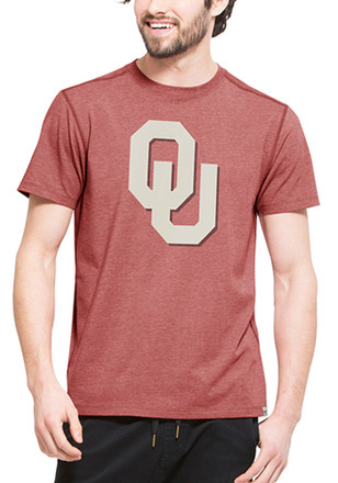 '47 Oklahoma Mens Red High Point Performance Tee