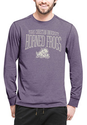 '47 Horned Frogs Mens Purple Cadence Performance Tee