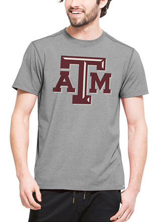 '47 Texas A&M Mens Grey High Point Performance Tee