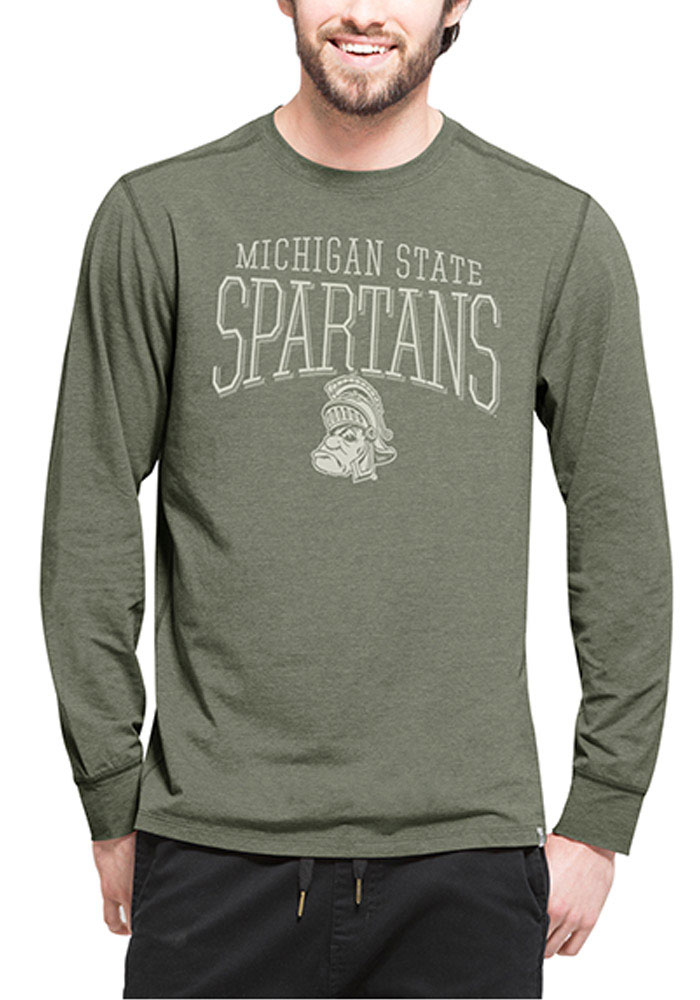 47 Michigan State Spartans Green Cadence Long Sleeve T-Shirt - Image 1