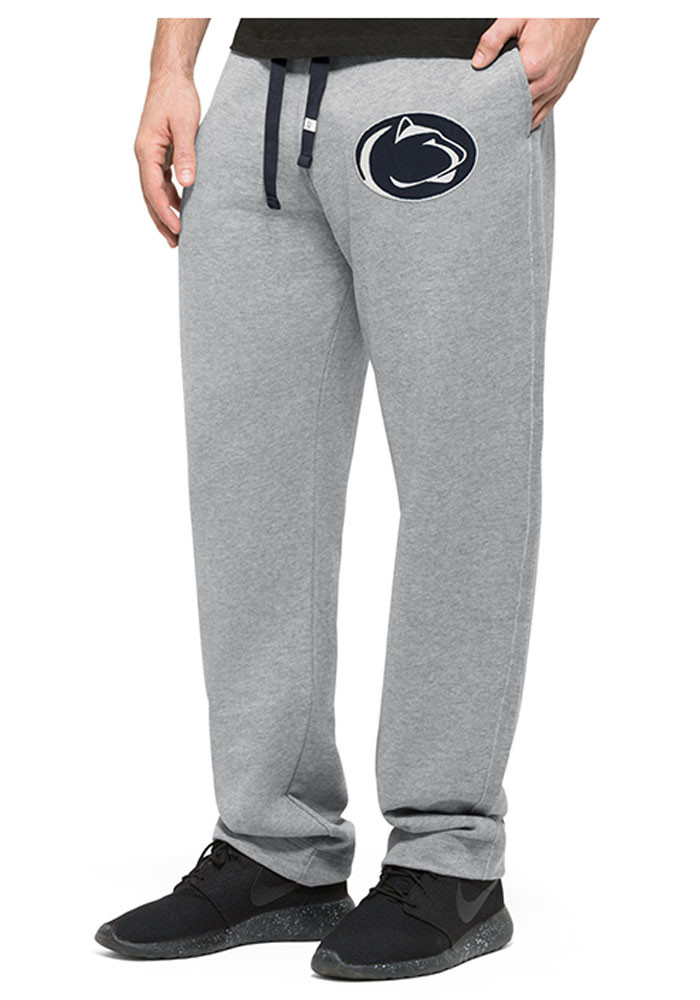 '47 Penn State Nittany Lions Baby Grey Logo Bottoms Sweatpants - Image 1