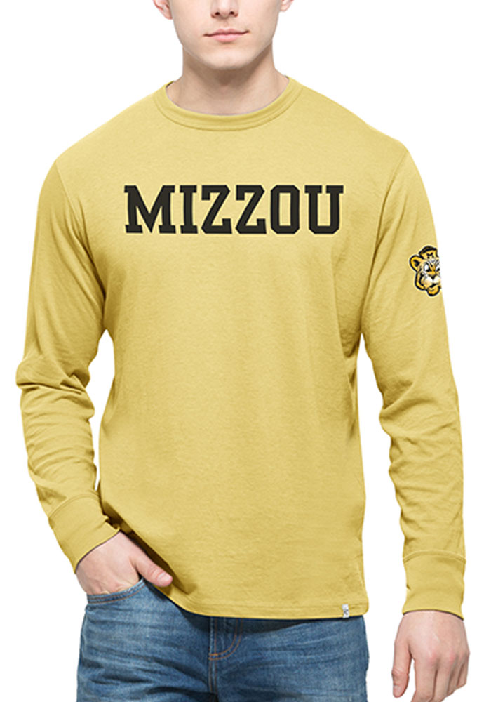 '47 Missouri Tigers Mens Gold All Pro Team Long Sleeve Fashion T Shirt - Image 1