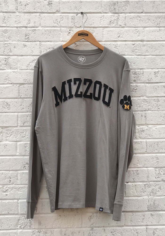 47 Mizzou Tigers Mens Grey Arch Fashion Tee 4805557